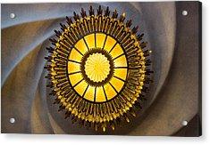 Casa Batllo Ceiling Lamp Barcelona Spain Acrylic Print