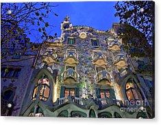 Casa Batllo In Barcelona Acrylic Print