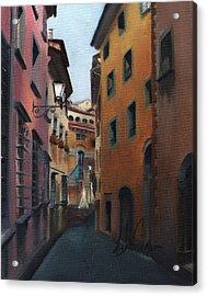 Casa Cordati Acrylic Print by Leah Wiedemer
