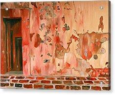 Casa Vieja Old House Acrylic Print by Oudi Arroni