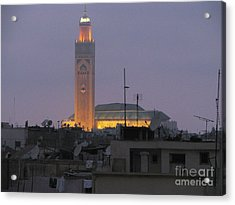 Acrylic Print featuring the photograph Casablanca by Erik Falkensteen