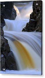 Cascade At Dawn Acrylic Print