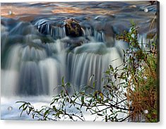 Acrylic Print featuring the photograph Cascade At Sunrise by Timothy McIntyre
