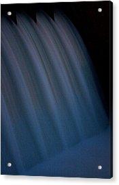 Acrylic Print featuring the photograph Cascade De Azure by David Dunham