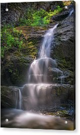 Acrylic Print featuring the photograph Cascade Falls, Saco, Maine by Rick Berk