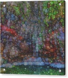 Cascade Acrylic Print by Jack Zulli