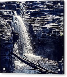 Acrylic Print featuring the photograph Cascade by Kendall McKernon