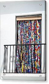 Cascade Of Colour Acrylic Print