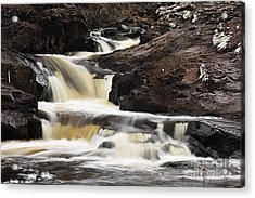 Acrylic Print featuring the photograph Cascade On The Two Island River by Larry Ricker