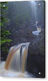 Cascade River Cascade Acrylic Print