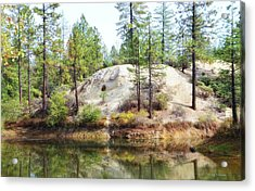 Cascade Shores Acrylic Print
