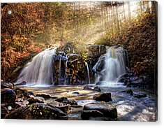 Acrylic Print featuring the photograph Cascades Of Light by Debra and Dave Vanderlaan