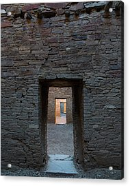 Cascading Doors Acrylic Print by Joseph Smith