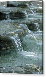 Cascading Fountain Acrylic Print