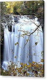 Cascading Water Fall Acrylic Print