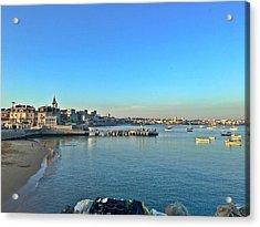 Cascais Marina Acrylic Print