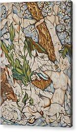 Case Of Forest Acrylic Print by Turgay Denizel