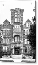 Case Western Reserve University Adelbert Hall Acrylic Print by University Icons