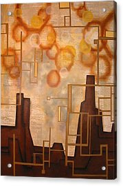 Cash Moves Everything Around Me Acrylic Print by Monica James