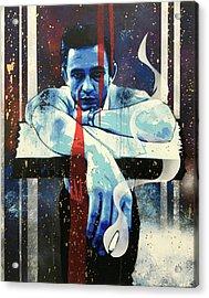 Cash - Preacher Man Le Acrylic Print
