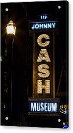 Cash Acrylic Print by Stephen Stookey