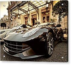Casino Monte Carlo Vip Parking Acrylic Print