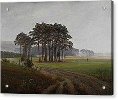Caspar David Friedrich, Landscape Acrylic Print
