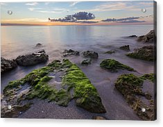 Caspersen Beach Sunset Acrylic Print