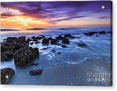 Casperson Beach Sunset 2 Acrylic Print
