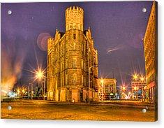 Cass Castle Detroit Mi Acrylic Print