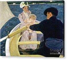 Cassatt: Boating, 1893-4 Acrylic Print by Granger