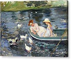 Cassatt: Summertime, 1894 Acrylic Print by Granger