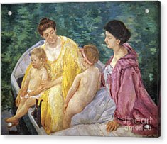Cassatt: The Swim, 1910 Acrylic Print by Granger