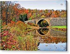 Casselman River Bridge Acrylic Print