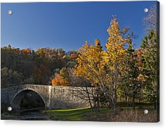 Casselman River Bridge Acrylic Print by Gregory Scott