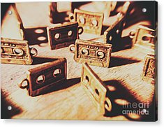 Cassette Club Dance Acrylic Print