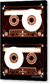 Cassette Tapes Acrylic Print