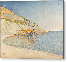 Acrylic Print featuring the painting Cassis. Cap Lombard. Opus 196 by Paul Signac
