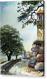 Castel At Borgo Rapale Acrylic Print