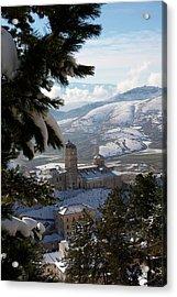 Castel Del Monte Abruzzo Italy Acrylic Print by Tom  Doherty