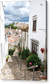 Castelo De Vides Historic Jewish Quarter Acrylic Print by Concierge 2C