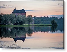 Castle After The Sunset Acrylic Print