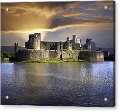 Castle At Dawn Acrylic Print