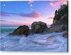 Castle Beach Acrylic Print