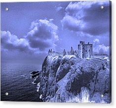 Castle Blue Acrylic Print