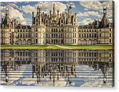 Acrylic Print featuring the photograph Castle Chambord by Heiko Koehrer-Wagner