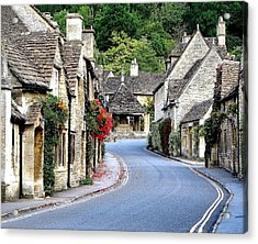 Castle Combe Acrylic Print by Diane Height