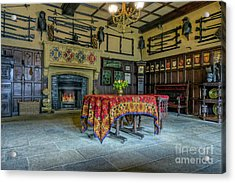 Acrylic Print featuring the photograph Castle Dining Room by Ian Mitchell