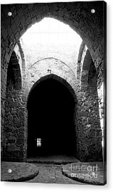 Castle Dungeon Acrylic Print by John Rizzuto