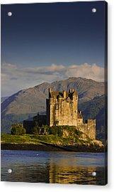 Acrylic Print featuring the photograph Castle Eilean Donan by Gabor Pozsgai